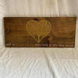 Other - Wooden Farm House Decor Sign